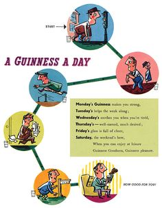 A Guinness a Day...