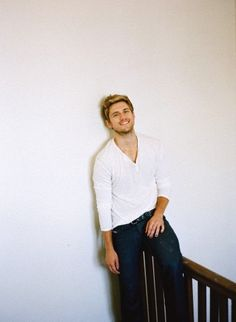 """Aaron Tveit. I wasn't sure if I should put this one under """"People I love"""" or """"pretty things"""" haha"""