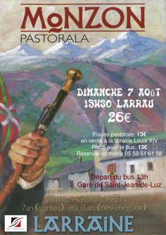 Affiche Monzon Pastorale - Larrau