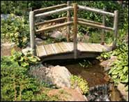 Double Rail White Cedar Bridges