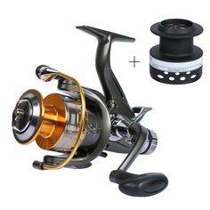 FRA Series Dual Brake Feeder Fishing Reel Spinning Fishing Wheel 10BB 5.1:1 with Extra Spool Fishing Tackle
