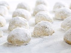 Eggnog Meltaways : therecipecritic -- pp: These cookies are delicious and melt in your mouth! A delicious holiday cookie! Christmas Sweets, Christmas Cooking, Xmas, Christmas Holidays, Cookie Recipes, Dessert Recipes, Walnut Cookies, Eggnog Recipe, Cookies Et Biscuits