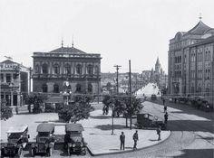 Largo São Bento, 1915.
