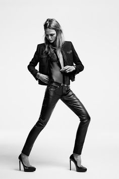 Saint Laurent Resort 2014 Collection Slideshow on Style.com