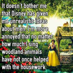 Housework is never done!