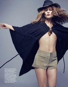 Vanessa Paradis by Dusan Reljin for Elle France
