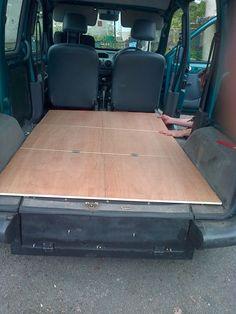 How to convert a Kangoo Micro-van into a camper