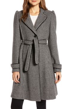 online shopping for Gal Meets Glam Collection Minicheck Wool Blend Coat from top store. See new offer for Gal Meets Glam Collection Minicheck Wool Blend Coat Maternity Coat, Coats For Women, Clothes For Women, Long Puffer Coat, Long Sleeve Sweater Dress, Gal Meets Glam, Fit Flare Dress, Wool Blend, Collection