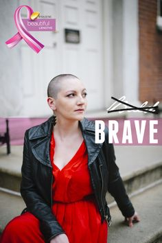 A Practical Wedding headed a push for National Donate Your Hair Day for Pantene Beautiful Lengths, and has amazing buttons featuring Liz.  #BaldIsBeautiful #stbaldricks #shavedhead