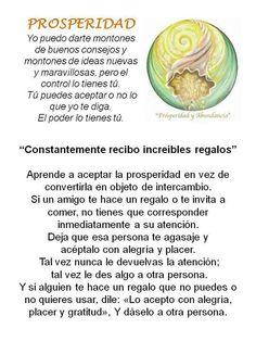 CONSTANTEMENTE RECIBO REGALOS...  ...y he aprendido a aceptar la prosperidad en vez de convertirla en un objeto de intercambio, recuerda que si alguien te hace un regalo, acéptalo como un signo de prosperidad de alguien a quien le importas y no te sientas obligado a corresponderlo, si te lo regalan es porque te lo mereces y punto. Visita => http://ProsperandoUnidos.com
