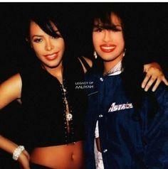 Selena and Aaliyah
