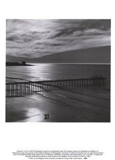 The Scripps Pier, 1966  by Ansel Adams Prints - Bio