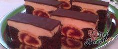 Recept Řezy - Černá růže Czech Recipes, Ethnic Recipes, Hungarian Recipes, Sweet And Salty, Cake Cookies, Just Desserts, Food Inspiration, Tiramisu, Cheesecake