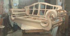 Diy Cardboard Furniture, Woodworking Furniture, Furniture Legs, Furniture Design, Chesterfield Furniture, Wooden Sofa Set, Unique Sofas, Muebles Living, Sofa Set Designs
