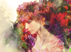 double exposure // flowers