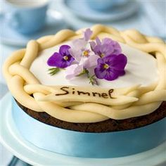As much as we love the classic version, this chocolate simnel cake - made with cocoa powder and chocolate chunks - is certain to make Easter extra special.