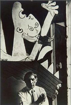 CHIM - picasso with guernica
