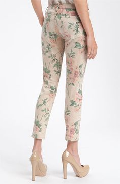 I think I could rock these floral jeans with a plain tee ... but I'm not 100% convinced.