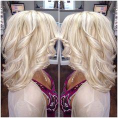 Blonde op pinterest blondjes blonde highlights en balayage