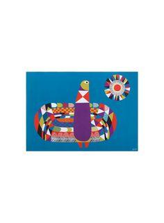 Kukkuu-juliste   Marimekko