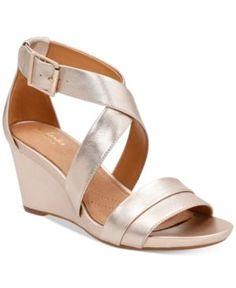 Clarks Artisan Women's Acina Newport Sandals - Black 6.5W