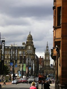 heading towards George Square, Glasgow, Scotland, 2009