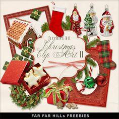 New Freebies Kit - Christmas Clip-Art II