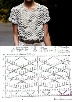 24 Trendy Ideas For Crochet Lace Top Pattern Free Charts