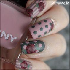 fanailtic - polish, nail art & more: flower & lace designs feat. Born pretty tore BP-L020