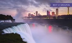 Groupon - Stay with Couples' or Family Package at Super 8 Niagara Falls in Niagara Falls, ON. Dates into May. in Niagara Falls, ON. Groupon deal price: $40.38