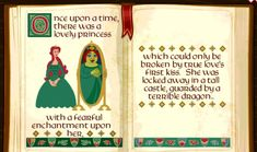 Princess Fiona and her ogress curse in a storybook from Shrek 3d Animation, Animation Movies, Fiona Y Shrek, Princess Fiona, Disney Images, First Kiss, Children's Literature, School Projects, Dreamworks
