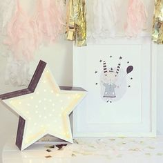 We love this petite star by Fromage La Rue. A perfect decorative addition at Christmas time. #fromagelarue #Starlight