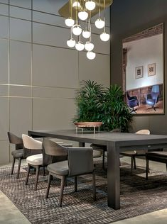 Trussardi Casa - Darly table with Larzia chairs www.luxurylivinggroup.com #Trussardi #LuxuryLivingGroup