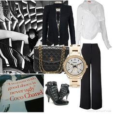 chanel outfits women | Women's Outfits Chanel Inspired Workwear