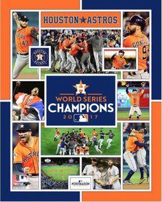 Houston Astros 2017 World Series Champions Celebration Composite 8x10 Photo #PhotoFile #HoustonAstros