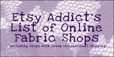Online Fabric Shops