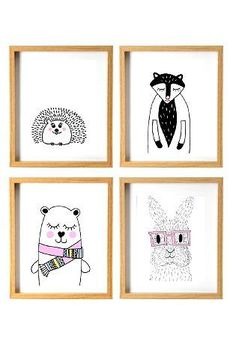 Cute animals collection (size by drawings by stella