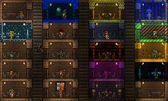 terraria house for all npcs - Google Search