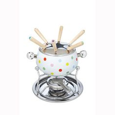 Cath Kidston fondue set - arrived yesterday and is ADORABLE. Can't wait to try it out...