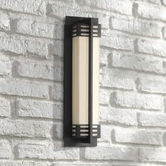 """Possini Euro Cudahy 16""""H Bronze LED Wall Sconce - #71N32 