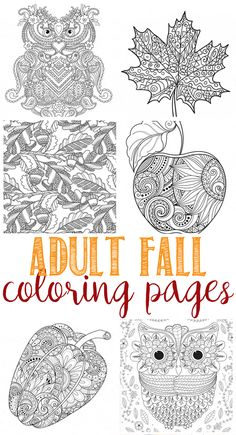 Free Printable Fall Coloring Sheets Unique Fall Coloring Pages for Adults Domestically Speaking Fall Leaves Coloring Pages, Fall Coloring Sheets, Leaf Coloring Page, Coloring Pages For Grown Ups, Detailed Coloring Pages, Thanksgiving Coloring Pages, Free Adult Coloring Pages, Mandala Coloring Pages, Christmas Coloring Pages