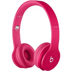 Beats By Dre Solo HD On-Ear Monochromatic Headphones (pink) 90000174-01 - $199.99
