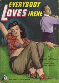 Everybody Loves Irene, Quarter Books #62 1950 #vintage #pulp