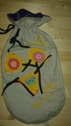 Tuto / DIY du sac à linge sale