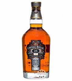 Chivas Regal 25 YO Original Legend Blended Scotch Whisky / 40 % Vol. / 0,7 Liter-Flasche in Schatulle