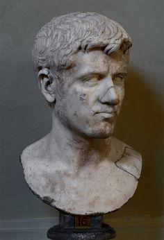 Roman male portrait bust. Marble. 1st cent. CE. Inv. No. 1977. Rome, Vatican Museums, Chiaramonti Museum, XLVII. 16