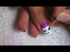 Pretty Kitty Nail Art