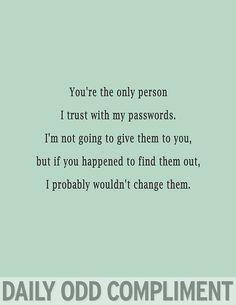 """""""Password Trust"""""""