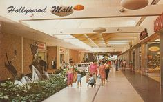 Hollywood Mall - Hollywood, Florida, via Flickr.