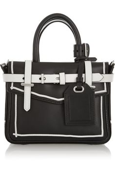 Reed Krakoff Boxer Micro leather tote (30% off on @netaporter)